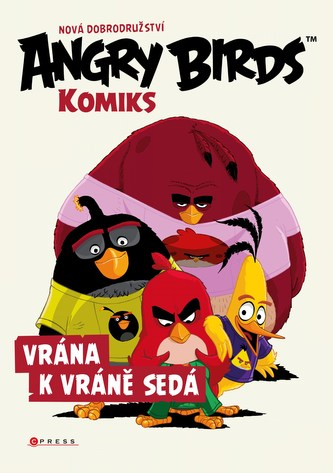 Angry Birds ve filmu – Komiks: Vrána k vráně sedá - Linda Perina