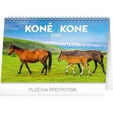 Kalendář stolní 2017 - Koně CZ/SK