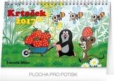Kalendář stolní 2017 - Krteček