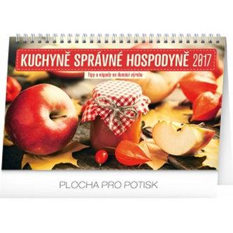 Kalendář stolní 2017 - Kuchyně správné hospodyně