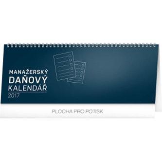 Kalendář stolní 2017 - Manažerský daňový