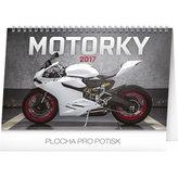 Kalendář stolní 2017 - Motorky
