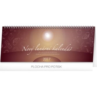 Kalendář stolní 2017 - Nový lunární kalendář