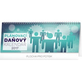 Kalendář stolní 2017 - Plánovací daňový