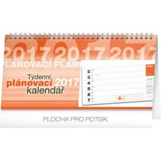 Kalendář stolní 2017 - Plánovací řádkový