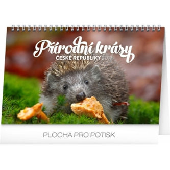 Kalendář stolní 2017 - Přírodní krásy České republiky