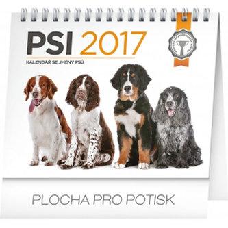 Kalendář stolní 2017 - Psi se jmény psů