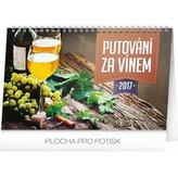 Kalendář stolní 2017 - Putování za vínem