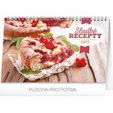 Kalendář stolní 2017 - Sladké recepty