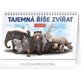 Kalendář stolní 2017 - Tajemná říše zvířat