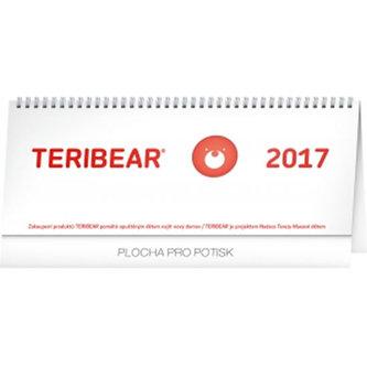 Teribear - stolní kalendář 2017