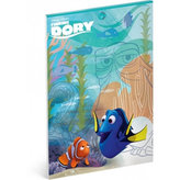 Náčrtník - Hledá se Dory/A4 nelinkovaný 50 listů