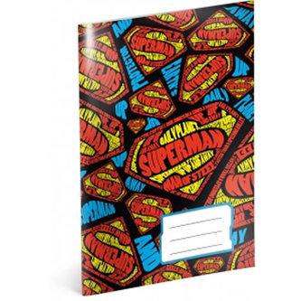 Sešit - Superman/Shapes/A5 nelinkovaný 40 listů - neuveden