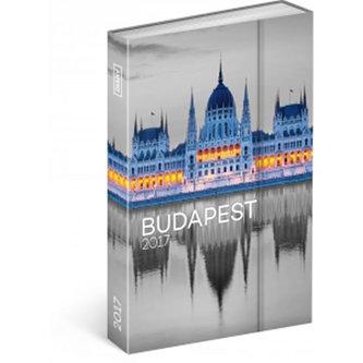 Diář 2017 - Budapešť - týdenní