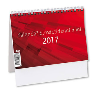 Kalendář stolní 2017 - MINI/Čtrnáctidenní