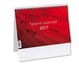Kalendář stolní 2017 - Týdenní M