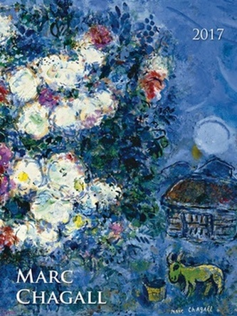 Marc Chagall 2017 - nástěnný kalendář