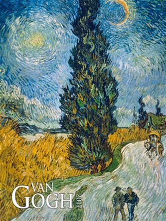 Vincent van Gogh 2017 - nástěnný kalendář