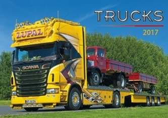 Trucks 2017 - nástěnný kalendář