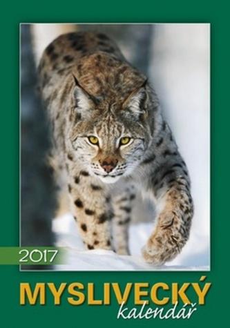 Myslivecký kalendář 2017 - nástěnný kalendář