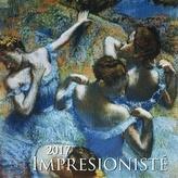 Impresionisté 2017 - nástěnný kalendář