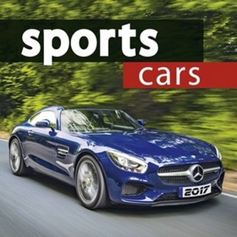 Sports cars 2017 - nástěnný kalendář