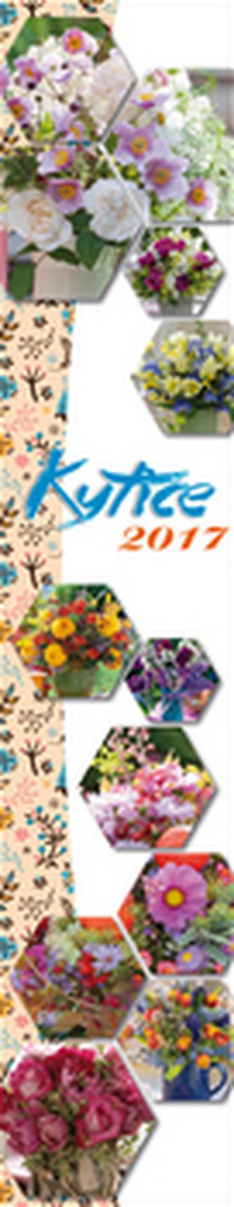 Kytice 2017 - nástěnný kalendář