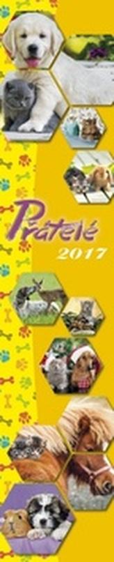 Přátelé 2017 - nástěnný kalendář
