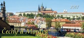 Čechy a Morava 2017 - stolní kalendář
