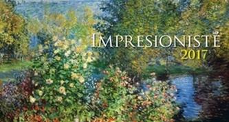 Impresionisté 2017 - stolní kalendář