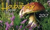 Houbařský kalendář 2017 - stolní kalendář