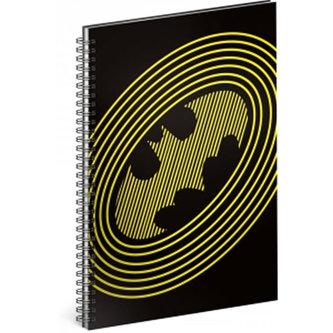Blok - Batman/Circles, A5 linkovaný,spirálový