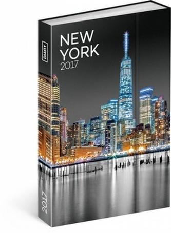 Diář 2017 - New York - týdenní