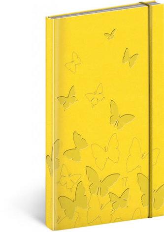 Vivella speciál kapesní diář Žlutý 2017