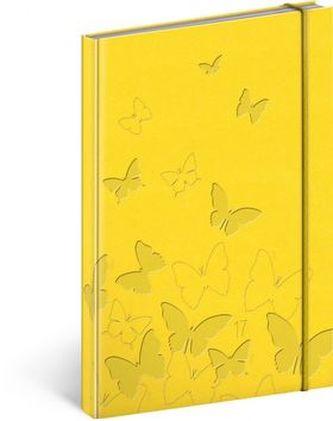 Vivella speciál týdenní diář Žlutý 2017
