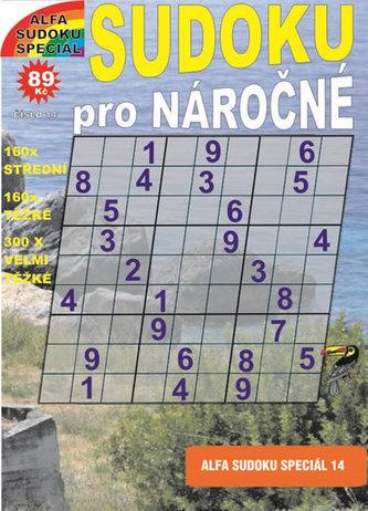 Sudoku speciál 14 pro nároční