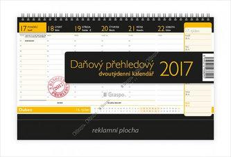 Kalendář stolní 2017 - Daňový přehledový