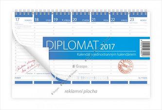 Kalendář stolní 2017 - Diplomat