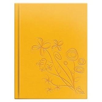 Diář 2017 Crazy - Flora žlutý