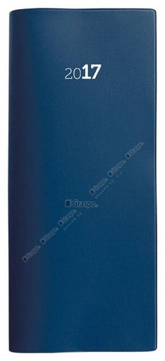 Plánovací záznamník 2017 PVC - modrý
