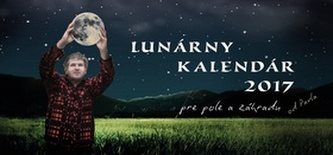 Lunárny kalendár 2017 pre pole a záhradu - stolový