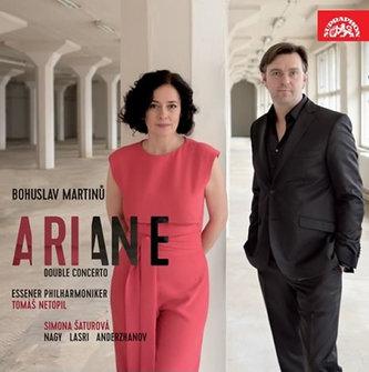 Martinů: Ariane, Dvojkoncert - CD - Filharmonie Essen