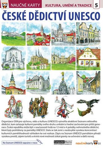České dědictví UNESCO - Naučné karty