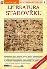 Literatura starověku - Naučné karty