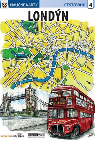 Londýn - Naučné karty - neuveden