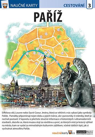 Naučné karty Paříž