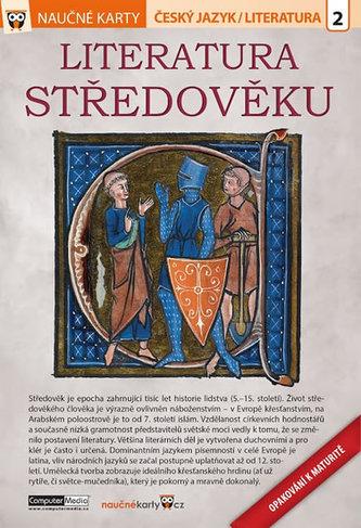 Naučné karty Středověká literatura