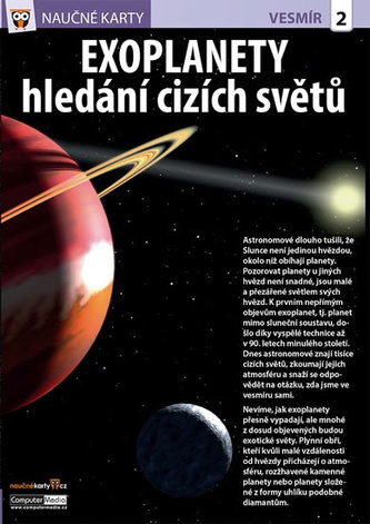 Naučné karty Exoplanety