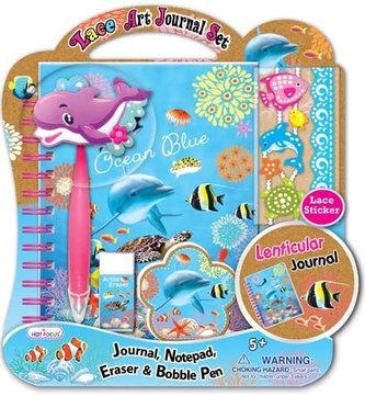 Kreativní set s deníčkem - Ocean - neuveden
