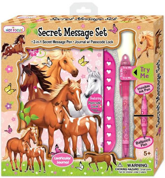 Set tajné zprávy - Koně - neuveden